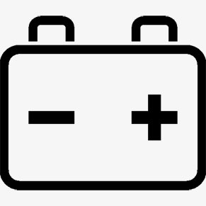 A Graphical Illustration of a Vehicle Battery